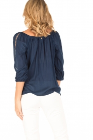 BEACHGOLD |  Tunic blouse Maisey | indigoblue  | Picture 5