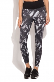 Casall | Sportlegging Distorted Flower | grijs  | Afbeelding 4