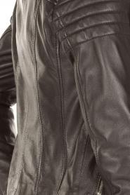 Arma | Leren bikerjas Lesley | zwart  | Afbeelding 6