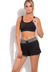 Casall |  Sports bra Rens | black  | Picture 2