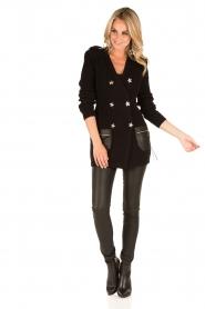 ELISABETTA FRANCHI | Vest Maisy | zwart  | Afbeelding 3