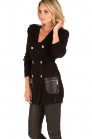 ELISABETTA FRANCHI | Vest Maisy | zwart  | Afbeelding 4