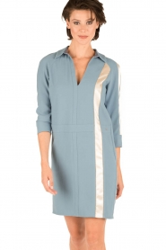 ELISABETTA FRANCHI |  Dress Cosmo | blue  | Picture 2