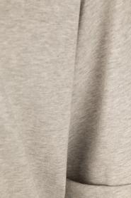 ELISABETTA FRANCHI | Oversized T-shirt Grigio Melange | grijs  | Afbeelding 6