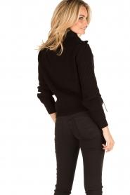 ELISABETTA FRANCHI | Vest Rosa Antico | zwart  | Afbeelding 4