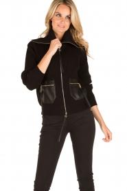 ELISABETTA FRANCHI | Vest Rosa Antico | zwart  | Afbeelding 5