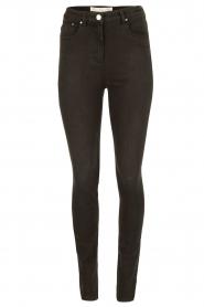 ELISABETTA FRANCHI | High waist Jeans Sottile | zwart  | Afbeelding 1