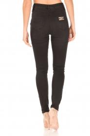 ELISABETTA FRANCHI | High waist Jeans Sottile | zwart  | Afbeelding 5