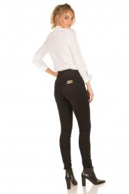 ELISABETTA FRANCHI | High waist Jeans Sottile | zwart  | Afbeelding 8