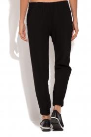 ELISABETTA FRANCHI | Pantalon met zijstrepen Linea | zwart  | Afbeelding 5