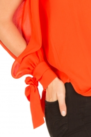 ELISABETTA FRANCHI | Blouse Sopra | rood  | Afbeelding 6
