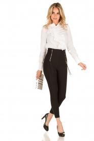 ELISABETTA FRANCHI | Legging Alto | zwart  | Afbeelding 3