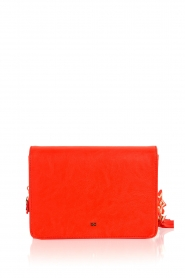 ELISABETTA FRANCHI | Schoudertas logo Anika | rood  | Afbeelding 4