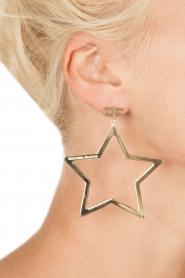 ELISABETTA FRANCHI | Oorbellen Star | goud  | Afbeelding 3