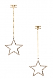 ELISABETTA FRANCHI | Oorbel Falling Star | goud  | Afbeelding 2