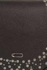 IKKS | Leren schoudertas Veran | zwart  | Afbeelding 5