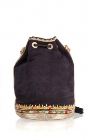 Buba |  Bucket bag Lida Drawstring | blue   | Picture 4