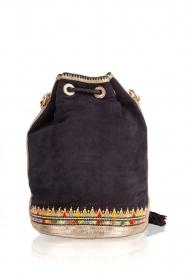 Buba | Bucket bag Lida Drawstring | blauw  | Afbeelding 4