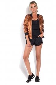 Deblon Sports |  Bomber jacket Chloe | brown  | Picture 3