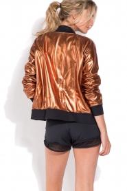 Deblon Sports |  Bomber jacket Chloe | brown  | Picture 5