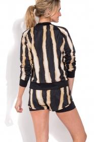 Deblon Sports | Sportshort Zebra | zwart/goud  | Afbeelding 5
