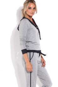 Deblon Sports | Sport trui Hermes | grijs  | Afbeelding 4