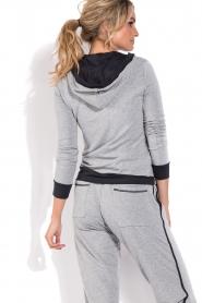 Deblon Sports | Sport trui Hermes | grijs  | Afbeelding 5