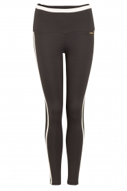 Deblon Sports | Sportlegging Kate | zwart/wit  | Afbeelding 1
