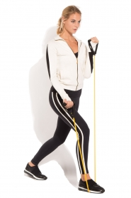 Deblon Sports | Sportlegging Kate | zwart/wit  | Afbeelding 3
