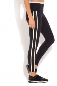 Deblon Sports | Sportlegging Kate | zwart/wit  | Afbeelding 4