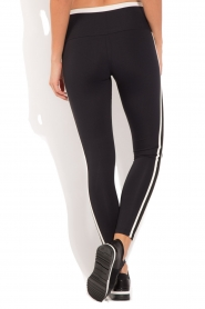 Deblon Sports | Sportlegging Kate | zwart/wit  | Afbeelding 5