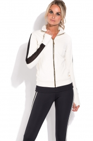 Deblon Sports |  Sports jacket Zoe | white  | Picture 2