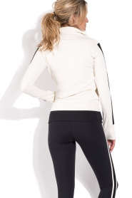 Deblon Sports |  Sports jacket Zoe | white  | Picture 5