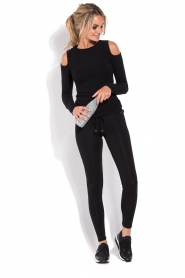 Deblon Sports | Jazz sportlegging | zwart  | Afbeelding 3