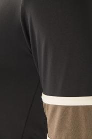 Deblon Sports | T-shirt Kate | zwart/goud  | Afbeelding 6
