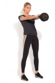 Deblon Sports | T-shirt Kate | zwart/goud  | Afbeelding 3
