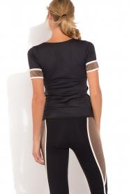 Deblon Sports | T-shirt Kate | zwart/goud  | Afbeelding 5
