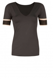 T-shirt Kate | zwart