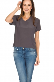 Ruby Tuesday |  T-shirt Avy | grey  | Picture 2