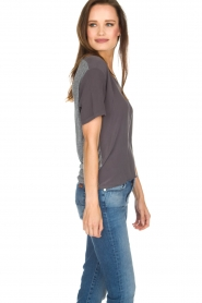 Ruby Tuesday |  T-shirt Avy | grey  | Picture 4