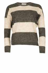 Ruby Tuesday |  Woolen sweater Farreb | grey  | Picture 1