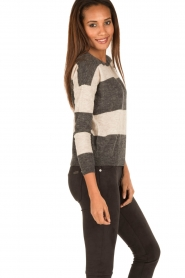Ruby Tuesday |  Woolen sweater Farreb | grey  | Picture 4