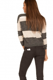 Ruby Tuesday |  Woolen sweater Farreb | grey  | Picture 5