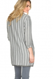 Ruby Tuesday |  Striped blazer Odesa | grey  | Picture 5