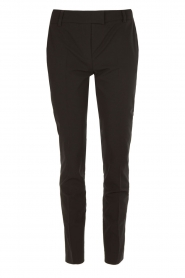 Pantalon pencil slacks | zwart