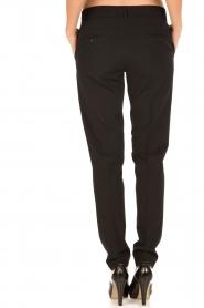 Hunkydory | Pantalon pencil slacks | zwart  | Afbeelding 5