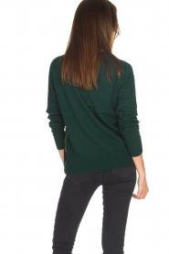 Hunkydory | Wollen trui Earl | groen  | Afbeelding 4