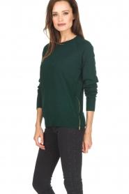 Hunkydory | Wollen trui Earl | groen  | Afbeelding 3