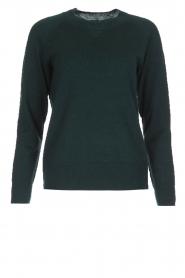 Hunkydory | Wollen trui Earl | groen  | Afbeelding 1