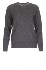 Hunkydory |  Woollen sweater Earl | grey  | Picture 1